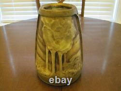 AMPHORA AUSTRIAN Art Nouveau Pottery Vase