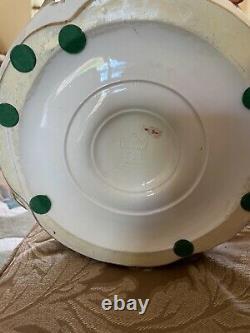AMPHORA TEPLITZ Centerpiece Bowl THREE FIGURAL CHILDREN