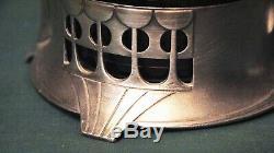 ART NOUVEAU WMF silver-plated Bowl Pair German Austrian plated silver plate