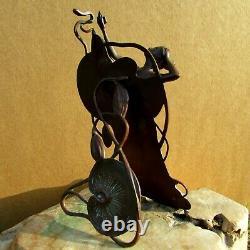 A rare early decorative bronze by Franz Bergman (Bergmann) possible Bruno Zach