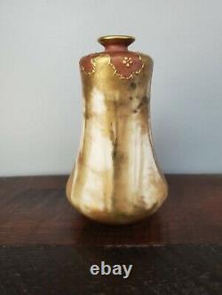 Amphora Austrian Vase by Riessner, Stellmacher and Kessel