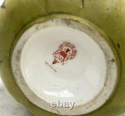 Amphora RSTK Porcelain Pottery Triple Handled Vase, circa 1900