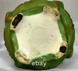Antique 20s Austrian Porcelain Amphora Vase, Gilded. Art Nouveau/Secession