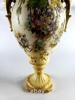Antique Art Nouveau Amphora Vase RStK Turn Teplitz Bohemia Austria 13