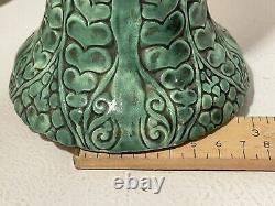 Antique Art Nouveau Julius Dressler Austria Hungarian Pottery Vase Planter JDB