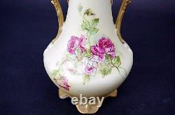 Antique Art Nouveau Royal Teplitz Austrian Bohemian Amphora Vase 12