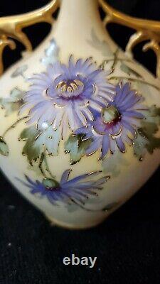 Antique Art Nouveau Vase TURN-TEPLITZ-BCHEMIA RStK Austria Bohemian Nice