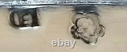 Antique Austrian Vienna 800 Silver Large Ornate Platter Tray Sandwich Server