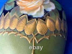 Antique Ernst Wahliss Art Nouveau / Deco Vase Vienna Austria Rare