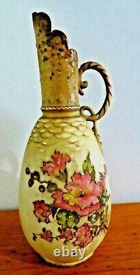 Antique Turn Teplitz Amphora Art Nouveau Ewer Pitcher