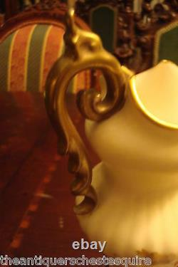 Art Nouveau Amphora Ewer/Vase Carl Knoll on ROYAL VIENNA style, Bohemia a12