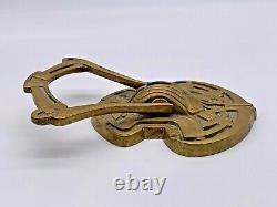 Art Nouveau Early Austrian Ges Gesch Superb Design Brass Door Knocker