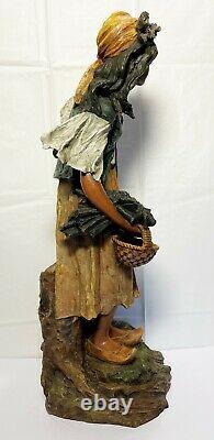 Art Nouveau Maiden RStK Turn Teplitz 25 Sculpture Amphora Woman Statue Pottery