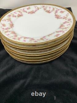 Austria MZ Porcelain Lot of 8 Bread & Butter Plates