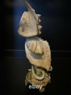 Ernst Wahliss Turn Wien Art Nouveau Amphora Depose Figural Bust Figurine