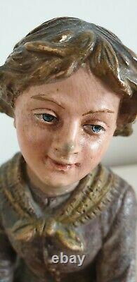 Fine Austrian Art Nouveau Female Figure BERNARD BLOCH c. 1910 antique rare