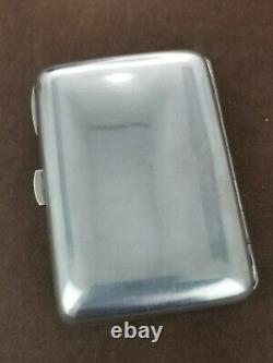 Georg Adam Scheid GAS Austrian Art Nouveau 800 Silver Enamel Cigarette Case