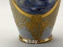 Impressive Antique Royal Vienna Pictoral Vase