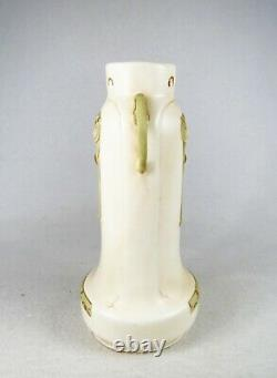 Lovely Austrian Art Nouveau Vase Double Handles Amphora Teplitz