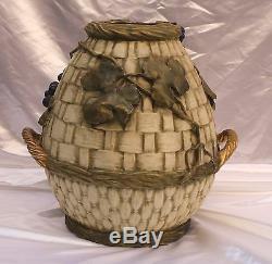 Magnificent Art Nouveau Museum Piece 19c Austrian Amphora Vase Must See
