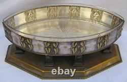 Magnificent Austrian Art Nouveau Silverplate Jardiniere by Willmer-Wisgrill