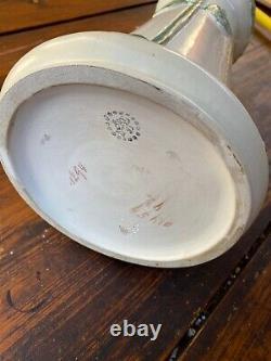 Monumental Austrian Art Nouveau Vase By Julius Dressler Circa 1910
