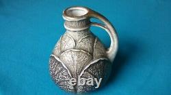 Paul Dachsel Design Art Nouveau Ernst Wallace Pottery Vase TURN Vienna AUSTRIA