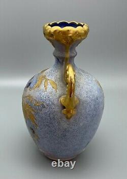 RStK Teplitz Art Nouveau 8 Pale Blue Amphora