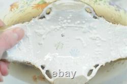 Rare Antique 1800s Art Nouveau Ernst Wahliss Turn Wein Austria Porcelain Vase #5