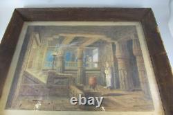 Rare Antique GENUINE Austrian Franz Angelo Rottonara 1922 Painting Signed