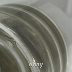 Schied Austrian Silver Enamel Inkwell Art Nouveau Beautiful Clovers GAS