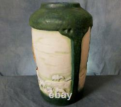 Stunning Very Large Hand Painted Imperial Amphor Austrian Secessionist Vase