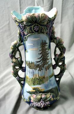 The Best Art Nouveau Majolica Vase There Is