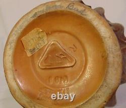 Turn Teplitz Amphora Austria Art Nouveau Edda Art Pottery Pitcher Grape Clusters