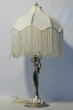 WMF ART NOUVEAU silver-plated Lamp German Austrian silver plated